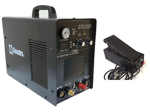 Plasma Cutter 50a Pilot Arc Simadre 3in1 200a Tig Arc Mma Welder Ft Pedal 520dp