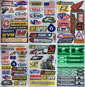 New Factory Stickers Decals Motocross Bike And Car Racing 6 Sh Ks01
