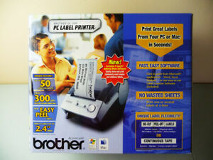 Brother Ql 500 Pc Label Printer Pc Or Mac P touch Electronic System