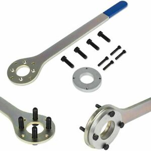 Crank Pulley Tool Wrench Holder Kit For Subaru Foresters Xt legacy outback baja