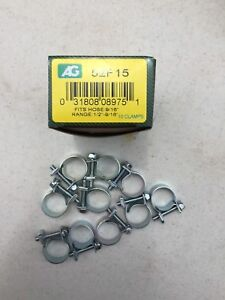 5 16 Fuel Injection Hose Clamps 10 Box