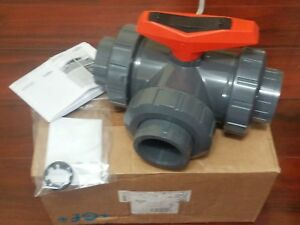 Gf Piping Systems 2 pvc Ball Valve 3 port Diverting 161543107 Epdm Type 543