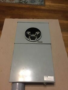 New Eaton Main Breaker Load Center Type Br 8 Circuit 4 Space 200 Amp Gray
