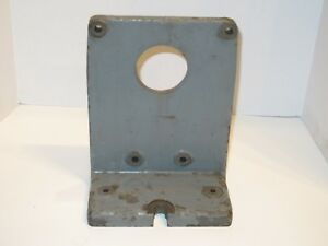 Bridgeport Right Angle Bracket For Rotary Table Vertical Bracket Used Fits 12