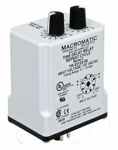 Macromatic Time Delay Relay Tr 55128 10