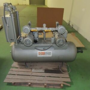 Busch Vacuum System In Good Working Order