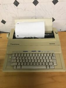 Smith Corona Wordsmith Portable Electric Typewriter Ka11 Tested Working