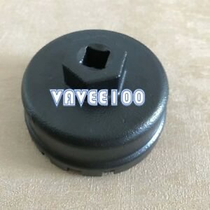 64mm 14flute Oil Filter Cap Wrench Tool For Toyota Lexus Scion 2 5l 5 7l Engines