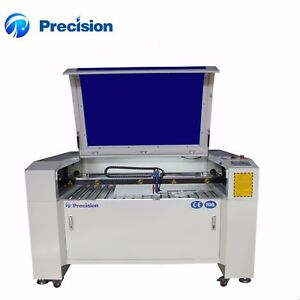 1390 Reci 100w Wood Acrylic Plastic Letter Cut And Engrave Co2 Laser Machine