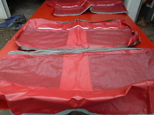 1964 N o s Ford Country Sedan Seat Covers Red