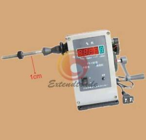 220v Electronic Manual Coil Winding Machine Coil Winder Coiling Machine Fy 130