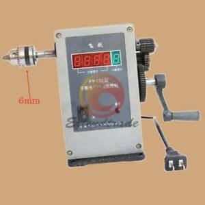 220v Fy 130 Electronic Manual Counting Winding Winder Machine Modified