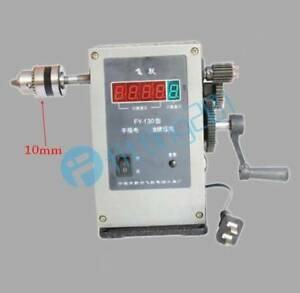 Fy 130 220v Electronic Manual Counting Winding Winder Machine Modified 10mm