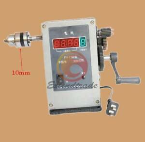Fy 130 Electronic Manual Counting Winding Winder Machine Modified 10mm 220v