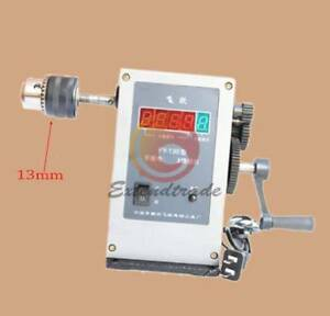 220v Fy 130 Electronic Manual Counting Winding Winder Machine Modified 13mm