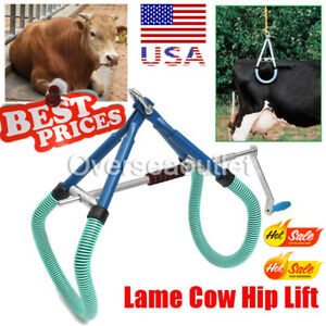 Cow Hip Lift Ob Calving Milking Birthing Lame Cattle Easy Fast For Emergency