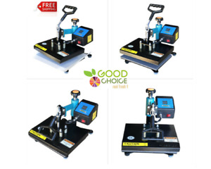 Heat Press Machine 9 x12 Coated With Sheet Sublimation Easy To Use 1100w New
