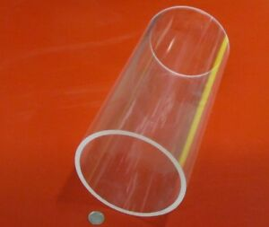 Acrylic Tube Clear Cast 5 75 Od X 5 25 Id X 250 Wall X 12 Length