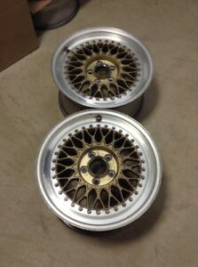 Bbs Rs307 17x9 Et42 5x114 3 Pair Only