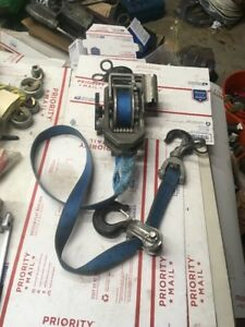 As Is Little Mule 300 Series 344dhb Strap Hoist Puller 4000 Come Along Winch l