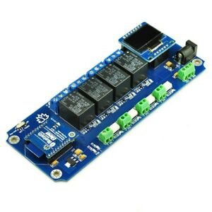 Tsir04 4 Channel Outputs 4 Optically Isolated Inputs Bluetooth Smartphone Relay