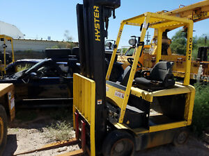 4 Hyster 60 Electric Forklifts parts Only