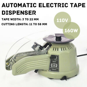 110v Zcut 2 Automatic Electric Tape Dispenser Adhesive Tape Cutter Machine Top