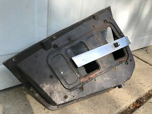 1967 1968 Mustang Gt Shelby Fastback Air Extractor Vent Housing Driver Side