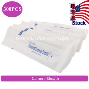 300pcs Disposable Sheaths Covers Sleeve For Dental Intraoral Intra Oral Camera