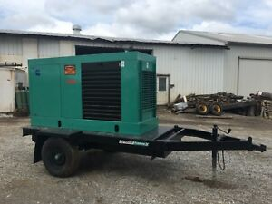 80 Kw Onan Cummins Powered Generator 469 Hours