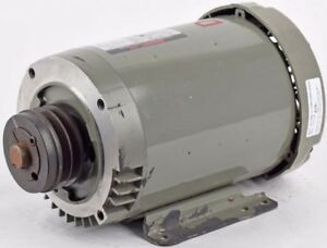 Unimount 125 2hp 1735rpm 3 phase 230 460 V Electric Ac Motor W 2 groove V Pulley