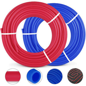 2 Rolls 1 2 x300ft Pex Tubing For Potable Water Combo O2 Oxygen Barrier Top
