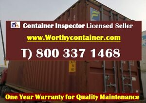 40 High Cube Shipping Container 40ft Hc Cargo Worthy In Houston Tx