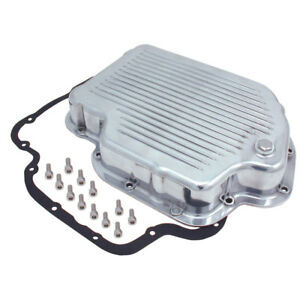 Transmission Pan Gm Th400 Polished Alum Spectre 5461