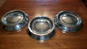 1964 Chevy Bel Air Dog Dish Hubcaps