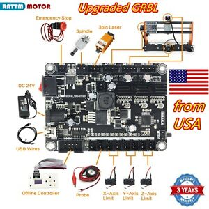 usa 3 Axis 0 9j Usb Grbl Control Board For Cnc Router Engraving Laser Machine