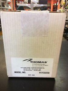 Thomas Industries 917cd22d 230v Air Compressor Vacuum Pump