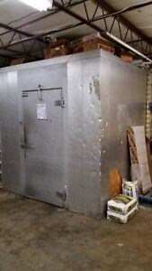 Walk in Refrigerator cooler W Compressor Unit