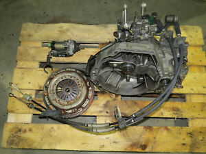 Jdm 92 01 Honda Prelude H22a 5 Speed Manual Transmission M2s4 Gearbox Cable P5m
