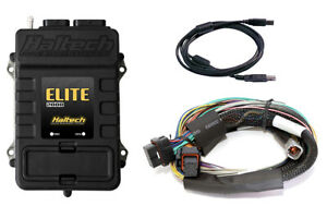 Haltech Elite 2000 Ecu 8 Ft Long Basic Universal Wire In Kit 3 Bar Map