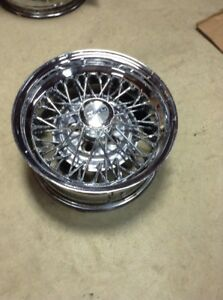1 14x7 Wire Cragar 50 Spoke Old School Hot Rod Lowrider
