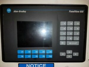 Allen Bradley Panelview 600 Operator Interface