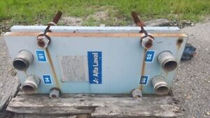 Alfa Laval 18 2 Sq Ft Plate Frame Heat Exchanger
