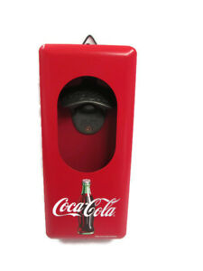 Coca-Cola Vintage Look Metal Bottle Opener And Cap Catcher - BRAND NEW