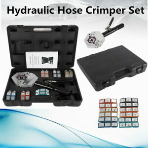 71500 Hydraulic Hose Crimper Tool Kit Repaire Automotive Air Condtioning A c Us