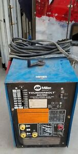 Miller Thunderbolt Ac dc Stick Welder Stock No 902775