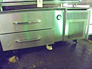 Randell 20048scm 48 Two Drawer Refrigerated Equipment Base Grill Fryer Stand