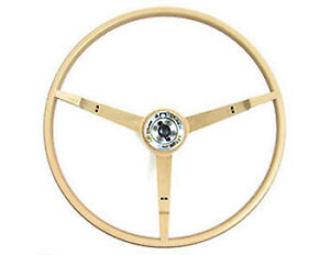 1965 1966 Mustang Parchment Original style Steering Wheel