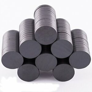3 4 Round Ceramic Industrial Ferrite Magnets 100 1 000 Pieces Brand New