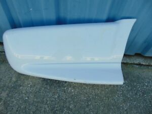 Used S10 Xtreme Stepside Right Rear Bumper End Skirt Sportside White 15034730
